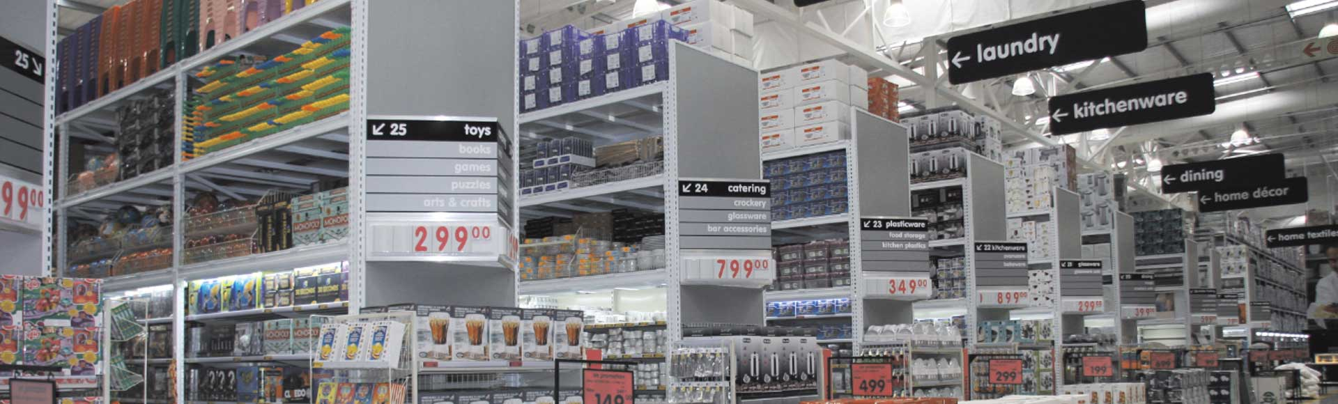 We Provide An Extensive Range Of Wholesale Shelving Systems